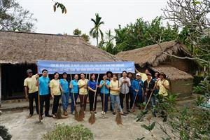 Bảo tàng Hồ Chí Minh Thừa Thiên Huế tiếp tục hưởng ứng phong trào Ngày Chủ nhật xanh