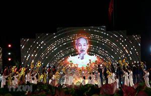 Sâu lắng cầu truyền hình Hồ Chí Minh, Sáng ngời ý chí Việt Nam