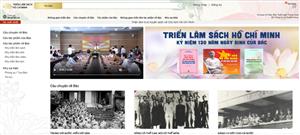 Triển lãm sách trực tuyến kỷ niệm 130 năm Ngày sinh Bác Hồ