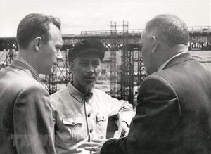 Dấu ấn của Chủ tịch Hồ Chí Minh tại Liên Xô năm 1955
