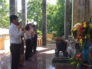 Khu di tích Kim Liên tổ chức các hoạt động tưởng niệm và tri ân nhân ngày thương binh, liệt sĩ
