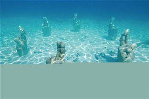 Bảo tàng nghệ thuật dưới nước Cancun, Mexico