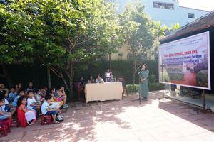 Tổ chức hoạt động tìm hiểu, khám phá tại Di tích Nhà lưu niệm Chủ tịch Hồ Chí Minh 112 (số mới 158) Mai Thúc Loan, thành phố Huế