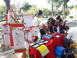 Tết dương lịch năm 2019 nhộn nhịp khách tham quan Khu di tích Nguyễn Sinh Sắc
