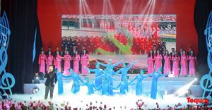 Dâng Người tiếng hát mùa Xuân- Chương trình nghệ thuật đặc biệt kỷ niệm 130 năm Ngày sinh Chủ tịch Hồ Chí Minh