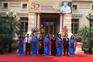 Trưng bày hơn 700 tư liệu về Chủ tịch Hồ Chí Minh