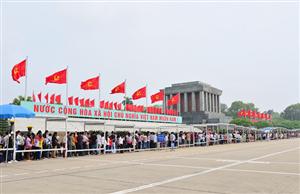Thông báo tổ chức lễ viếng Chủ tịch Hồ Chí Minh, lễ tưởng niệm các Anh hùng liệt sỹ và tham quan khu vực từ ngày 12/5/2020