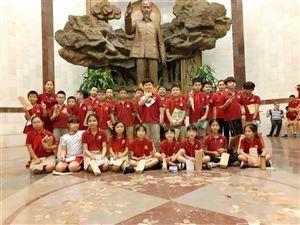 Học sinh Trường tiểu học Vinschool The Harmony, Hà Nội tham quan và trải nghiệm tại Bảo tàng Hồ Chí Minh