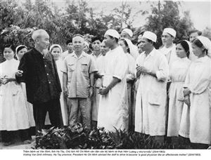 Chủ tịch Hồ Chí Minh cùng Trung ương Đảng lãnh đạo cuộc cách mạng xã hội chủ nghĩa ở miền Bắc và đấu tranh thống nhất nước nhà (1954-1969)