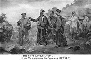Chủ tịch Hồ Chí Minh cùng Trung ương Đảng lãnh đạo cuộc vận động giải phóng dân tộc và Cách mạng tháng Tám, thành lập nước Việt Nam Dân chủ Cộng hòa, nhà nước dân chủ nhân dân đầu tiên ở Đông Nam Châu Á (1930-1945)