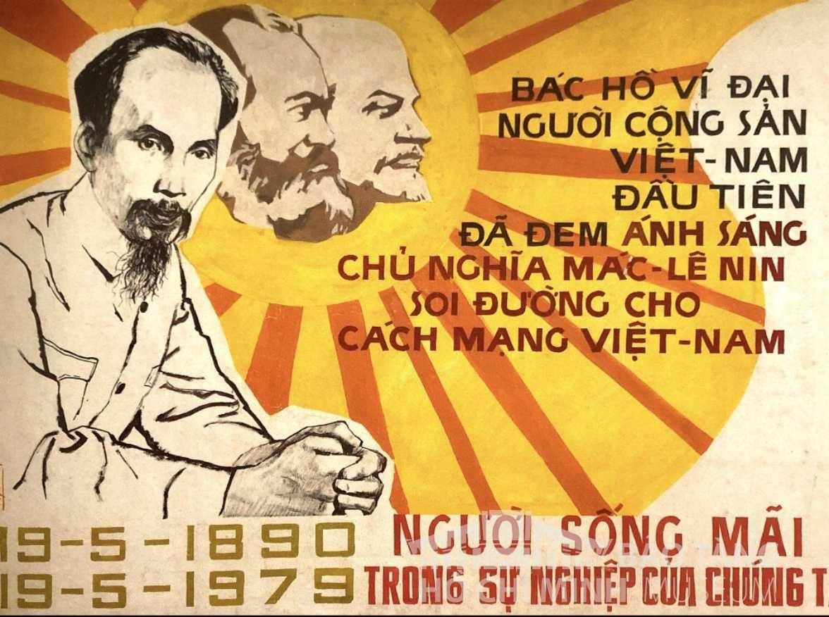 Tranh: Nguyễn Vinh Bột màu, 1980 Nguồn: Bảo tàng Mỹ thuật Việt Nam