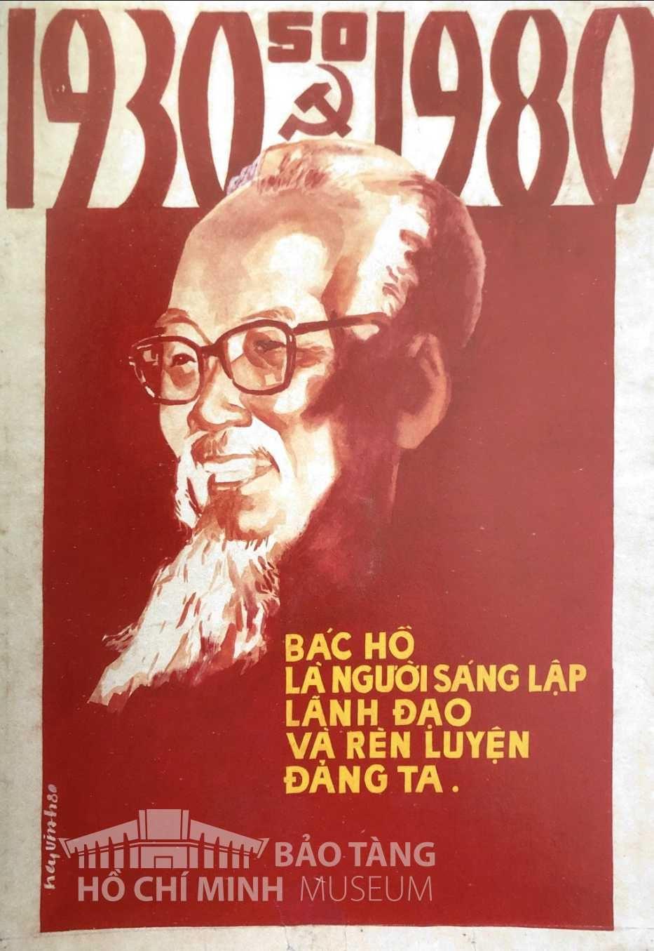 Tranh: Nguyễn Vinh Bột màu, 1980Nguồn: Bảo tàng Mỹ thuật Việt Nam