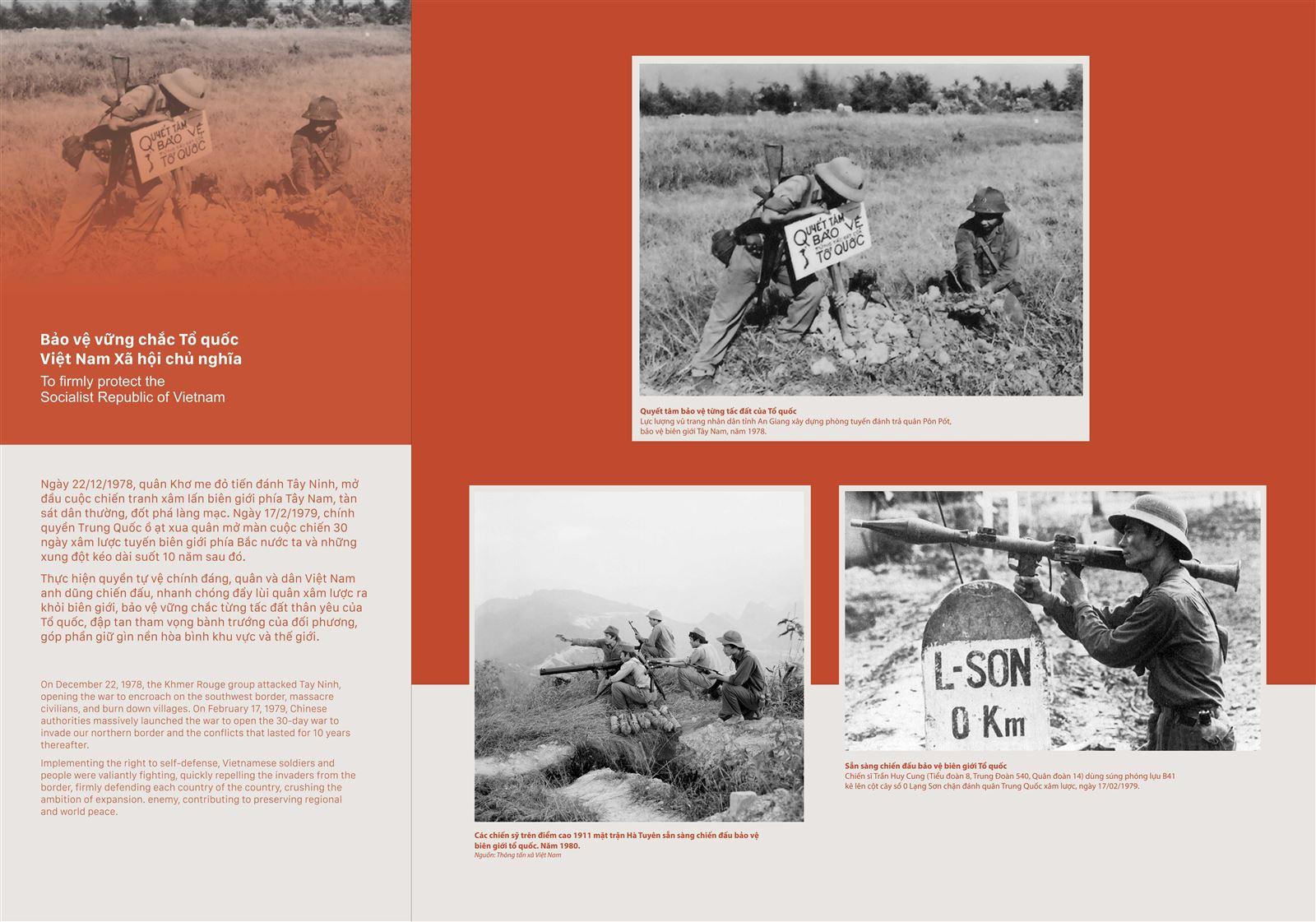 Bảo vệ vững chắc Tổ quốc Việt Nam Xã hội chủ nghĩa