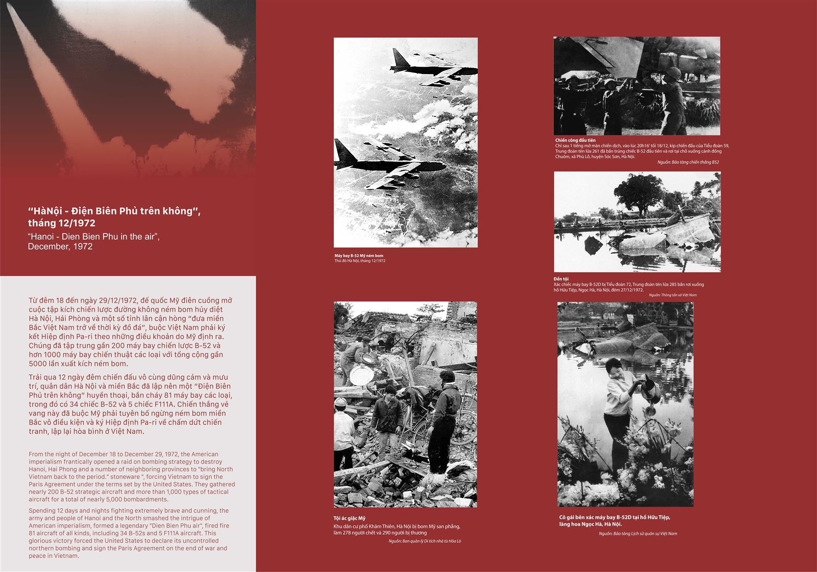 Hà Nội - Điện Biên Phủ trên không, tháng 12/1972