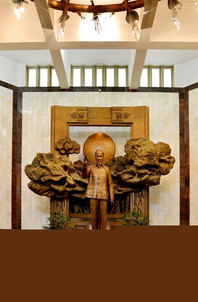 Giới thiệu chung về trưng bày thường xuyên của Bảo tàng Hồ Chí Minh