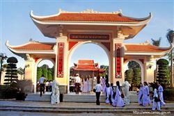 Khu tưởng niệm Bác Hồ tại thành phố Cà Mau