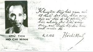 Nhớ lời kêu gọi toàn dân đi bầu cử của Chủ tịch Hồ Chí Minh