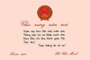 Thụ hưởng tư tưởng Hồ Chí Minh qua thơ chúc Tết - Mừng xuân