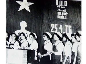 Bức ảnh kỷ niệm Ngày hội toàn dân cách đây 45 năm