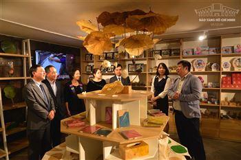 Khai trương Cửa hàng lưu niệm - Museum Shop của Bảo tàng Hồ Chí Minh