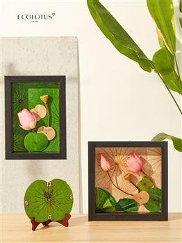 Sản phẩm Tranh 3D hoa Sen