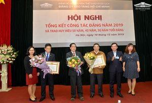 Đảng bộ Bảo tàng Hồ Chí Minh tổng kết công tác Đảng năm 2019 và trao Huy hiệu 50 năm, 40 năm, 30 năm tuổi Đảng