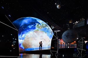 Bên trong bảo tàng thiên văn lớn nhất thế giới ở Trung Quốc
