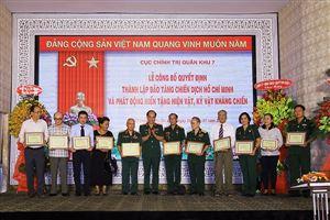 Lễ công bố Quyết định thành lập Bảo tàng Chiến dịch Hồ Chí Minh