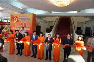 Lãnh đạo tỉnh Thừa Thiên Huế và thành phố Huế dâng hoa, khai mạc triển lãm chuyên đề tại Bảo tàng Hồ Chí Minh Thừa Thiên Huế