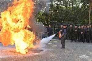 Bảo tàng Hồ Chí Minh tổ chức tập huấn phòng cháy chữa cháy và cứu nạn cứu hộ năm 2019