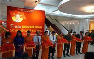 """Khai mạc triển lãm chuyên đề """"Đảng bộ Thừa Thiên Huế - Dấu ấn, niềm tin và khát vọng"""" tại Bảo tàng Hồ Chí Minh Thừa Thiên Huế"""