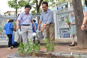 Bảo tàng Hồ Chí Minh tiếp nhận và trồng cây nhân dịp kỷ niệm 129 năm Ngày sinh Chủ tịch Hồ Chí Minh (19/5/1890 - 19/5/2019)