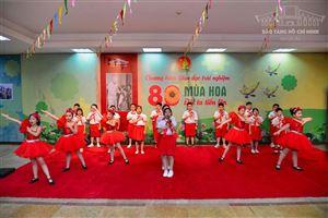 """Chương trình giáo dục, trải nghiệm """"80 mùa hoa - Đội ta tiến lên"""" tại Bảo tàng Hồ Chí Minh"""