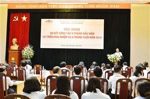 Bảo tàng Hồ Chí Minh tổ chức Hội nghị sơ kết công tác 6 tháng đầu năm và triển khai nhiệm vụ 6 tháng cuối năm 2019