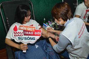 """Bảo tàng Hồ Chí Minh tham gia """"Ngày hội hiến máu tình nguyện"""" năm 2020"""