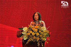 Phát biểu của TS. Nguyễn Thị Tình, nguyên Giám đốc Bảo tàng Hồ Chí Minh tại Lễ kỷ niệm 50 năm thành lập Bảo tàng Hồ Chí Minh (25/11/1970-25/11/2020).