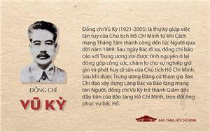 [Infographic] Tiểu sử đồng chí Vũ Kỳ, người thư ký suốt đời trung thành, tận tụy của Bác Hồ