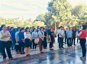Công đoàn Bảo tàng Hồ Chí Minh tham gia lao động công ích hưởng ứng đợt thi đua ngắn hạn năm 2019
