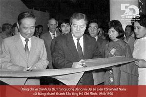 [Ảnh] Lễ khánh thành tòa nhà Bảo tàng Hồ Chí Minh