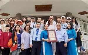 Đoàn Uỷ ban nhân dân hương Bảo Sơn, huyện Tân Trúc, Đài Loan đến tham quan và giao lưu tại Bảo tàng Hồ Chí Minh