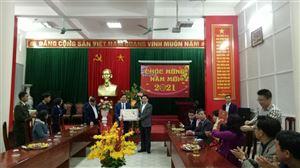 Đồng chí Nguyễn Xuân Sơn - chủ tịch HĐND tỉnh Nghệ An chúc Tết tại Khu di tích Kim Liên