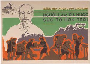 Ký ức của nữ họa sĩ Minh Phương về bức tranh cổ động 40 năm trước