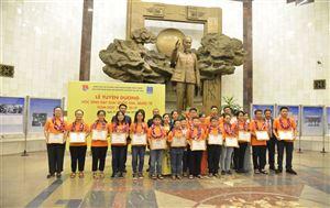 Tập đoàn Dầu khí Việt Nam tổ chức Lễ tuyên dương các học sinh đạt giải quốc gia, quốc tế năm học 2018 – 2019 tại Bảo tàng Hồ Chí Minh