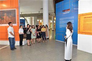 Một buổi sinh hoạt kết nối giữa Chi đoàn 1 và Chi đoàn 2, Đoàn cơ sở Bảo tàng Hồ Chí Minh