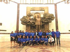 """Đoàn cơ sở Bảo tàng Hồ Chí Minh tổ chức sinh hoạt chuyên đề """"Chủ tịch Hồ Chí Minh với tư tưởng đại đoàn kết toàn dân"""""""