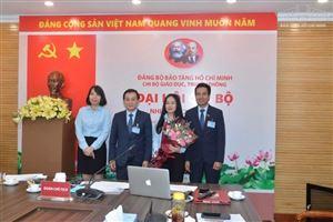Đại hội Chi bộ Giáo dục, Truyền thông nhiệm kỳ 2020-2022, Đại hội điển hình của Đảng bộ Bảo tàng Hồ Chí Minh