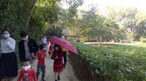 Gần 10 ngàn lượt khách tham quan Khu di tích Kim Liên trong dịp Tết Tân Sửu