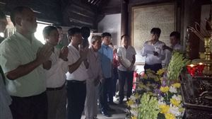 Khu di tích Kim Liên tổ chức Lễ tưởng niệm 126 năm ngày mất của Cụ Hoàng Xuân Đường-Ông ngoại Bác Hồ