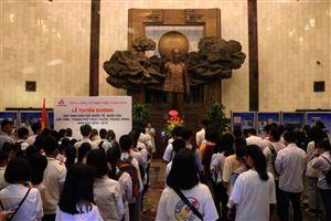 Lễ tuyên dương học sinh giỏi năm học 2018 – 2019 của Tổng công ty Thép Việt Nam tại Bảo tàng Hồ Chí Minh