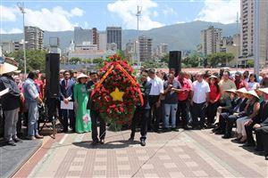 Kỷ niệm 50 năm thực hiện Di chúc Chủ tịch Hồ Chí Minh tại Venezuela